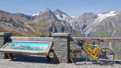 Großglockner Hochalpenstraße mit Fahrrad & Mountainbike erkunden