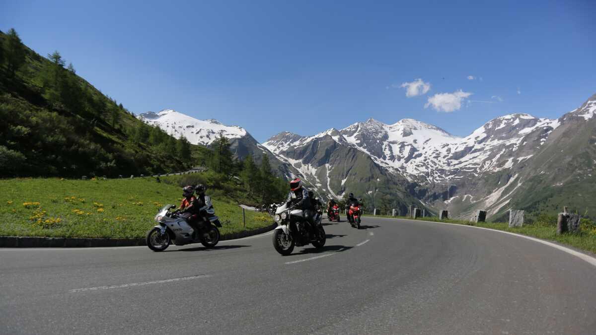 Großglockner Karte.Großglockner Hochalpenstraße Ideal Für Eine Alpine Motorradtour