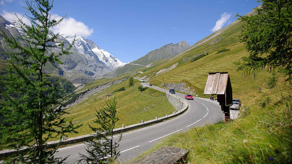 Grossglockner High Alpine Road in Austria